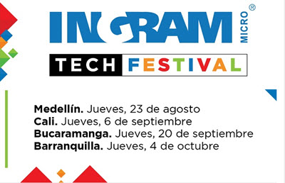 Newland Exhibe en Ingram Micro Tech Festival en Colombia